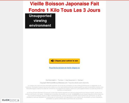 (1) Méthode Japonaise Pour Maigrir Découverte