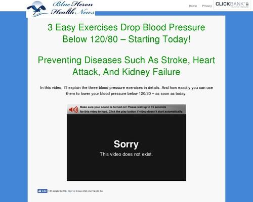 The High Blood Pressure Program - Blue Heron Health News