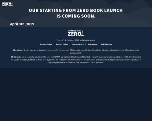 Starting From Zero Audiobook By Fred Lam - Lifetime Commission!