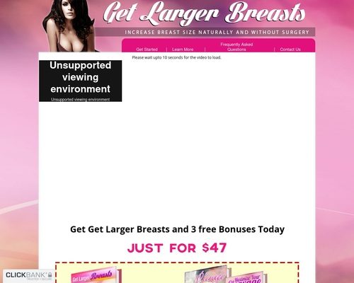 Get Larger Breasts