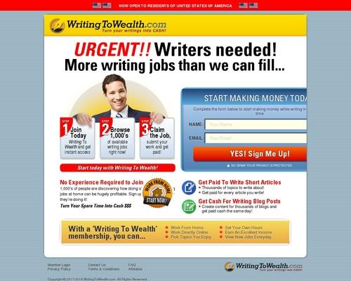 WritingToWealth