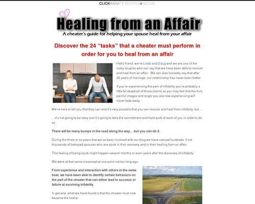 Healing From An Affair: A Cheater's Guide For Helping Your Spouse Heal