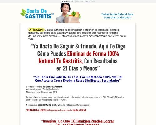 Basta De Gastritis  | La Solución Definitiva Para Eliminar La Gastritis