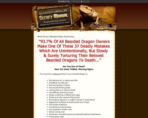 Bearded Dragon Secret Manual