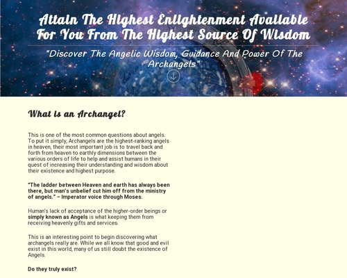 Celestial Inspiration - The Angelic Guided Path AOAW