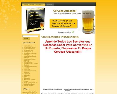 Cerveza Artesanal | Cerveza Casera