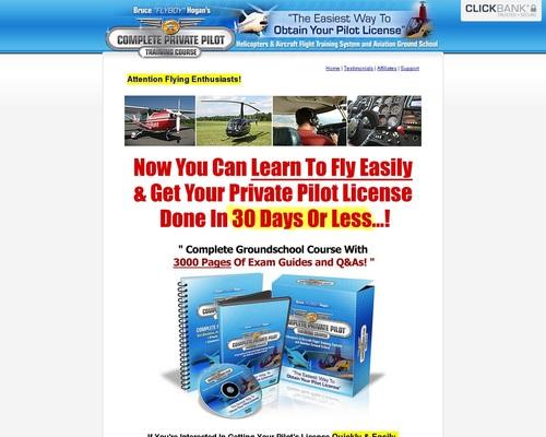 Over 3000 Private Pilot Manuals and Exam Handbooks | Private Pilot License