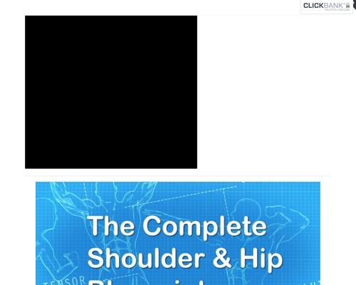 Even More Complete Shoulder and Hip Blueprint - Complete Shoulder & Hip