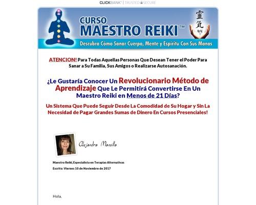 Curso Maestro Reiki - Unico En Español. 90% Comision