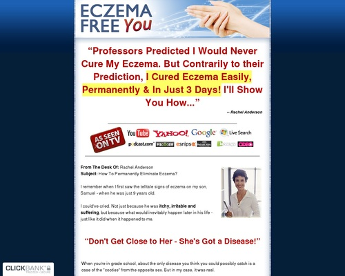 Eczema Free You - Updated For 2019!
