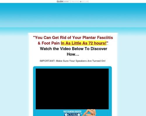 Fast Plantar Fasciitis Cure™