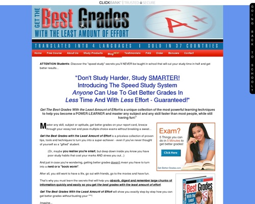How To Study Smarter - Get Better Grades In School Or College