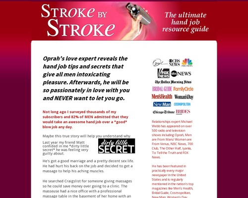 Stroke By Stroke - Guide To Giving Amazing Hand Jobs
