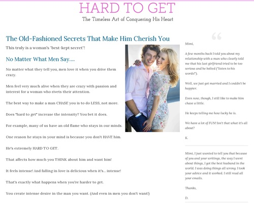 Hard To Get: The Timeless Art Of Conquering His Heart