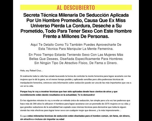 Maestro De La Seduccion | Mas Sexo, Mas Mujeres