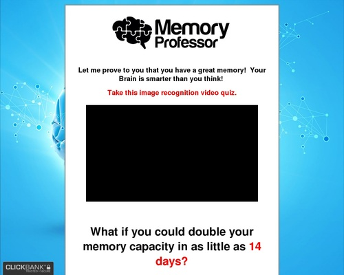 The Memory Professor System