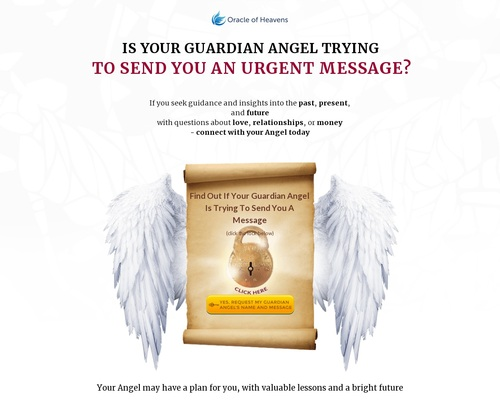Is Your Guardian Angel Trying To Send You An Urgent Message?