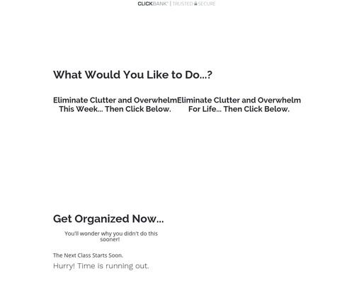 Jenny Layton's Get Organized Bootcamp & Life Organized
