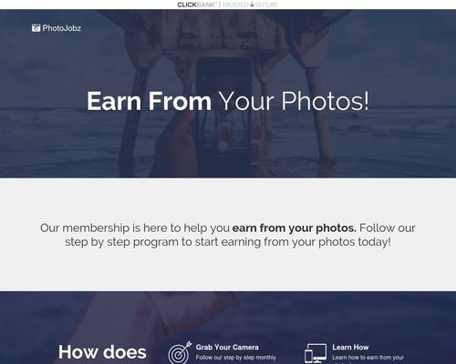 PhotoJobz   Get Paid To Take Photos!