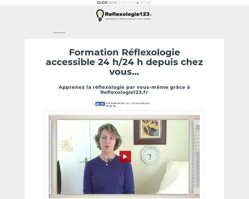 Formation Réflexologie en ligne