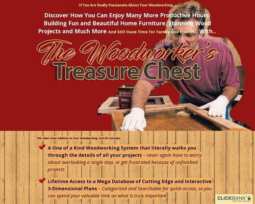 The Woodworker's Treasure Chest   Sawdust Addict
