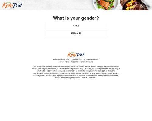 Simple Keto Test: Free Custom Keto Meal Plan