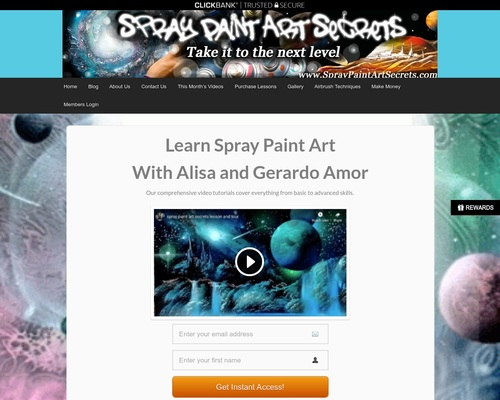 Spray Paint Art Tutorials & Techniques — Spray Paint Art Secrets