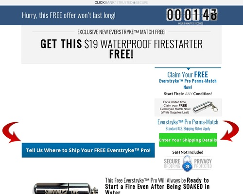 Free Waterproof Lighter From FPA