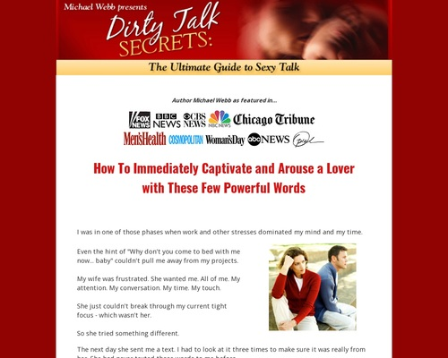 Official Site: Dirty Talk Secrets