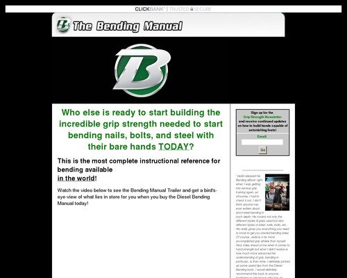 Nail Bending System - How to Build Hand Strength to Bend Nails, Bolts, and