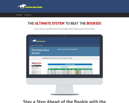 The Horse Race System