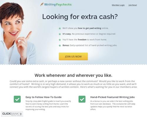 WritingPaychecks.com - Freelance Writing Jobs