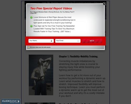 Boxing Strength, Body Composition, Ectomorph, Ko power, Speed training