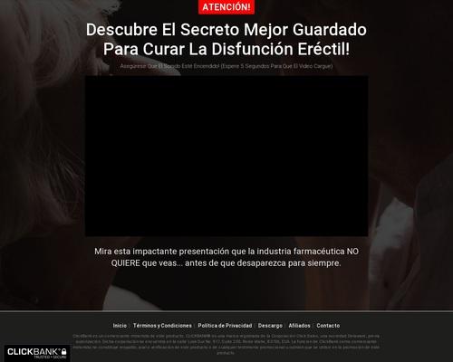 Adios Disfuncion Erectil - Brand New Ed Product In Spanish