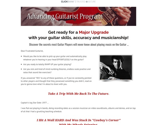 Advanced Guitar with Express Guitar Volume 2 - The Advancing Guitarist