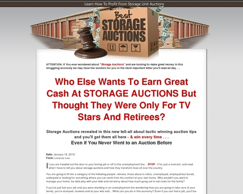 Best Storage Auctions