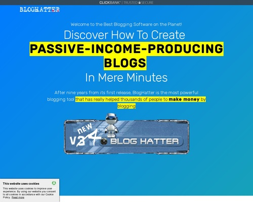 BlogHatter v4 - Automate your blogging process