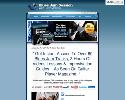 60 Of The Best Blues Backing Tracks - Download Blues Jam Tracks - Blues Jam