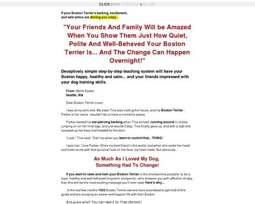 Boston Terrier Secrets