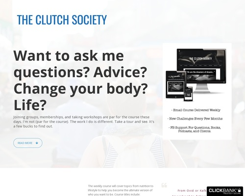 The Clutch Society – The Most Unique Lifestyle Membership On The Web
