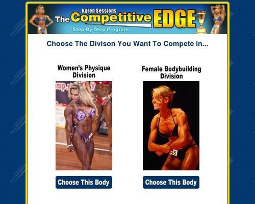 The Competitive Edge - Female Bodybuilding Contest Secrets