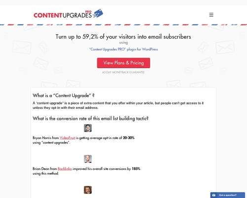 Content Upgrades Pro: Create Content Specific Bonuses » WordPress