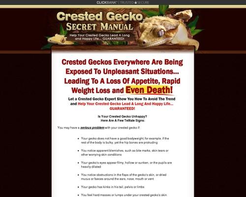 Crested Gecko Secret Manual- Crested Gecko Care