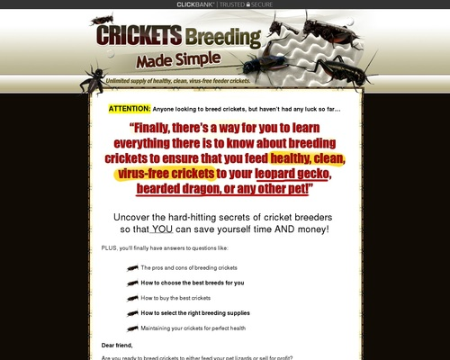 Crickets Breeding Made Simple - Easiest Way to Breed Feeder Crickets