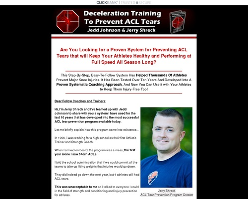 How to Prevent ACL Tears - Drills to Train Deceleration - How to Develop