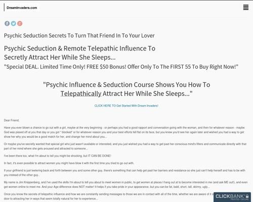 Psychic Seduction Secrets