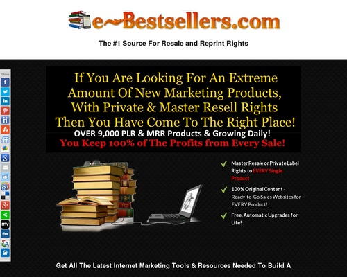 Turnkey Ebook Shop Business | Ready Made eBook Store | eBook Business for