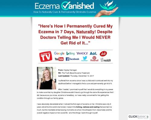 Eczema Vanished (tm) - #1 Converting Eczema Product On CB