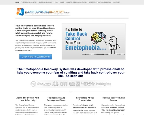 Emetophobia Recovery System – Start Overcoming Your Emetophobia Today –