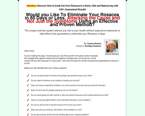 Goodbye Rosacea   Definitive Solution to Get Rid of Rosacea